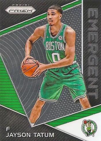2017-18 Panini Prizm Basketball Emergent Jayson Tatum
