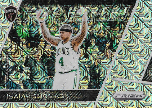 2017-18 Panini Prizm Basketball Get Hyped Mojo Isaiah Thomas