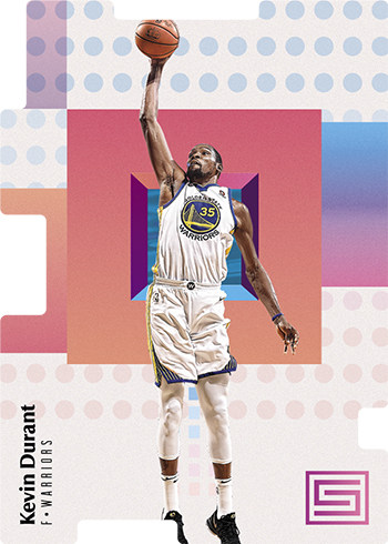2017-18 Panini Status Basketball Pursuit Kevin Durant