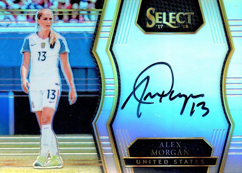 2017-18 Select Soccer Select Signatures Alex Morgan