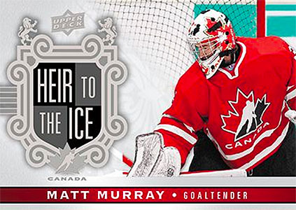 2017-18 Upper Deck Canadian Tire Team Canada Hockey Heir to the Ice Matt Murray