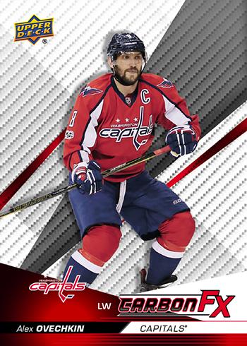 2017-18 Upper Deck Compendium Hockey Carbon FX Alex Ovechkin 8a41e027e