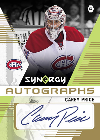 2017 Upper Deck Synergy Hockey Autographs