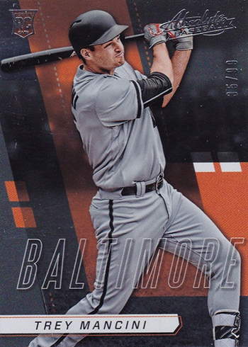 2017 Panini Chronicles Baseball Absolute Rookies Trey Mancini
