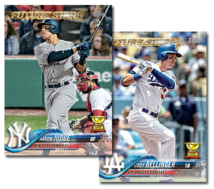 official photos 275d9 04743 2017 Topps All-Star Rookie Team Includes Aaron Judge, Cody ...