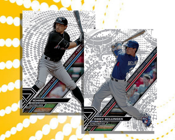 2017 Topps High Tek Patterns Variations