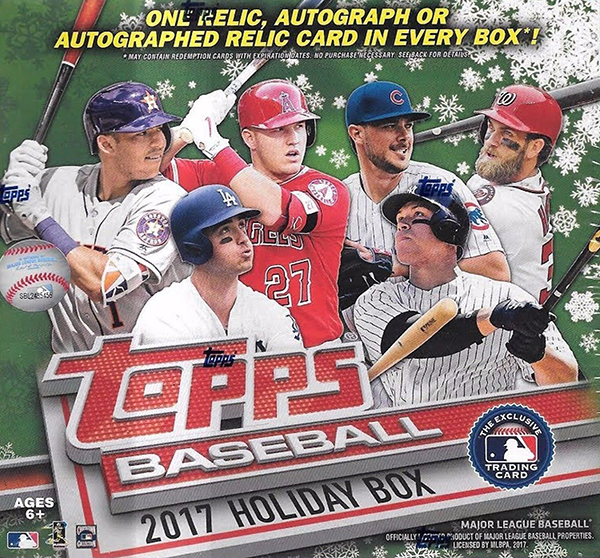 2017 Topps Holiday Baseball Checklist Team Set Lists Release Date
