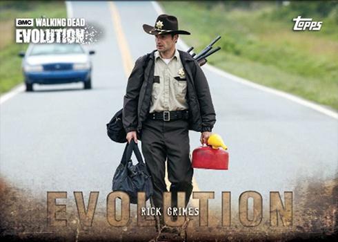 2017 Topps Walking Dead Evolution Base