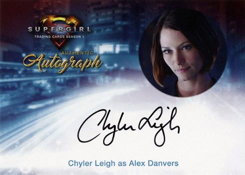 2018 Cryptozoic Supergirl Season 1 Chyler Leigh Autograph