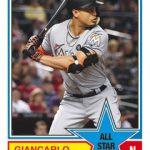 2018 Topps Series 2 Baseball 1983 Topps Giancarlo Stanton