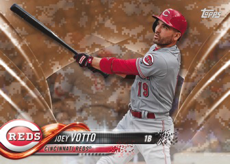 2018 Topps Series 2 Baseball Camo Joey Votto