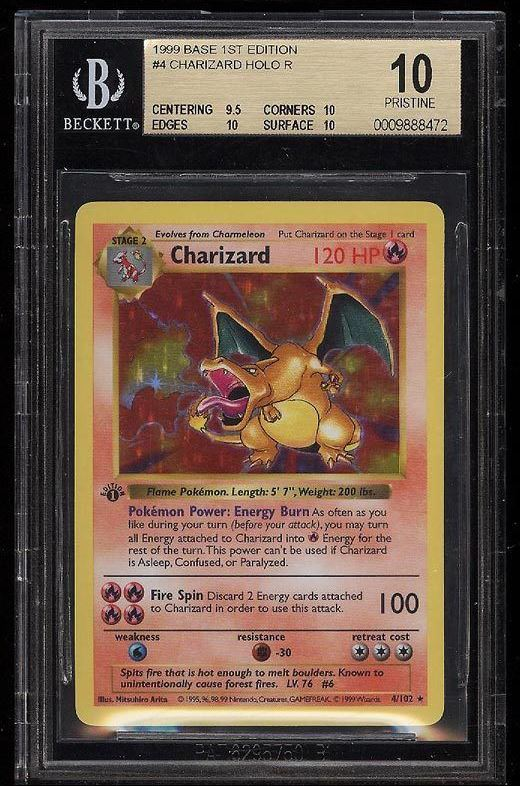 Pokémon Charizards Selling For Big Money Beckett News