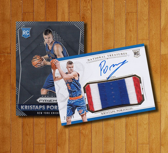 Kristaps Porzingis Rookie Card Rankings