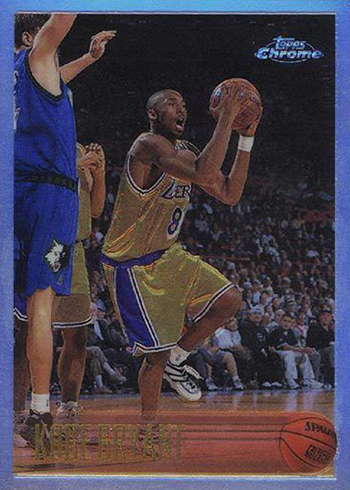 The Daily 1996 97 Topps Chrome Kobe Bryant Refractor