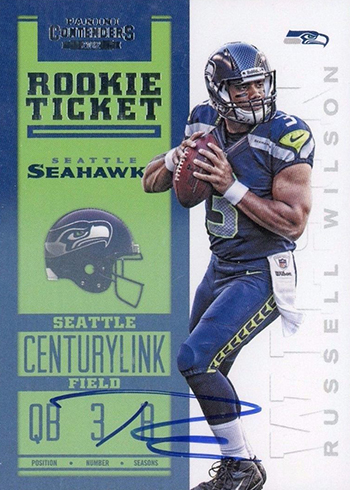 be1e50d205a 25 Most Valuable Contenders Football Rookie Ticket Autographs