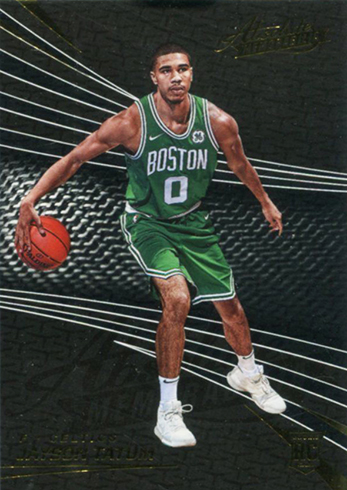 2017-18 Panini Absolute Memorabilia Basketball Base Jayson Tatum RC