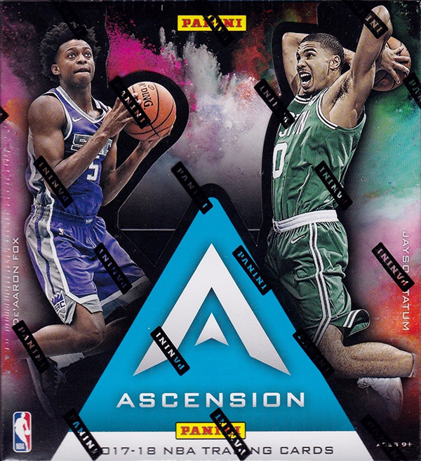 2017-18 Panini Ascension Basketball Hobby Box