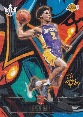2017-18 Panini Court Kings Basketball Rookies III Lonzo Ball
