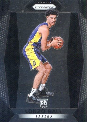 2017-18 Panini Prizm Basketball Base Lonzo Ball