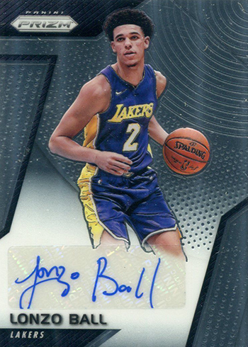 2017-18 Panini Prizm Basketball Rookie Signatures Lonzo Ball
