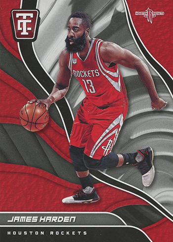 2017-18 Panini Totally Certified Basketball James Harden