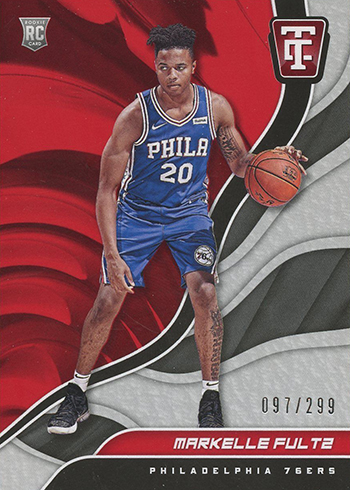 2017-18 Panini Totally Certified Basketball Markelle Fultz RC