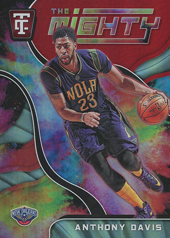 2017-18 Panini Totally Certified Basketball The Mighty