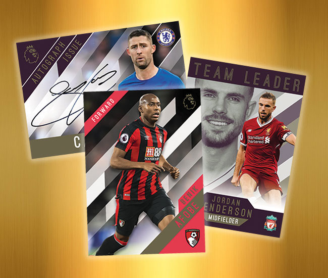 2017-18 Topps Premier League Gold Soccer