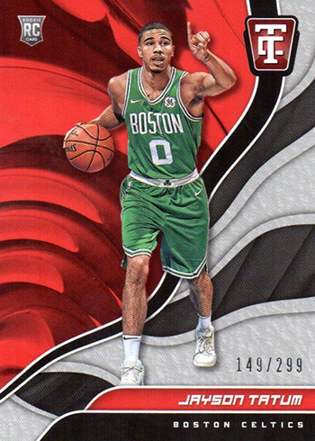 Jayson Tatum Rookie Card - 2017-18 Totally Certified