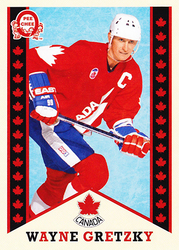 2017-18 Upper Deck Canadian Tire Team Canada Retro Wayne Gretzky