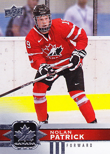 2017-18 Upper Deck Canadian Tire Team Canada SP1 Nolan Patrick