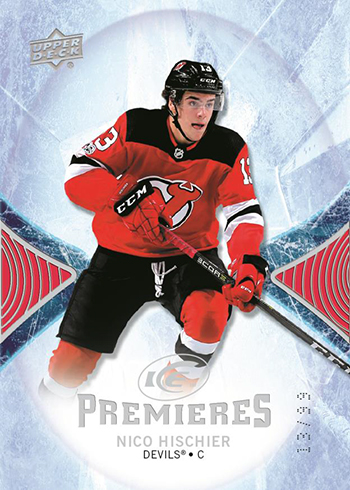 2017-18 Upper Deck Ice Hockey Base Ice Premieres Nico Hischier