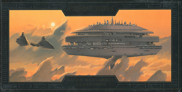 2017 Abrams Star Wars Art Ralph McQuarrie Postcards Front