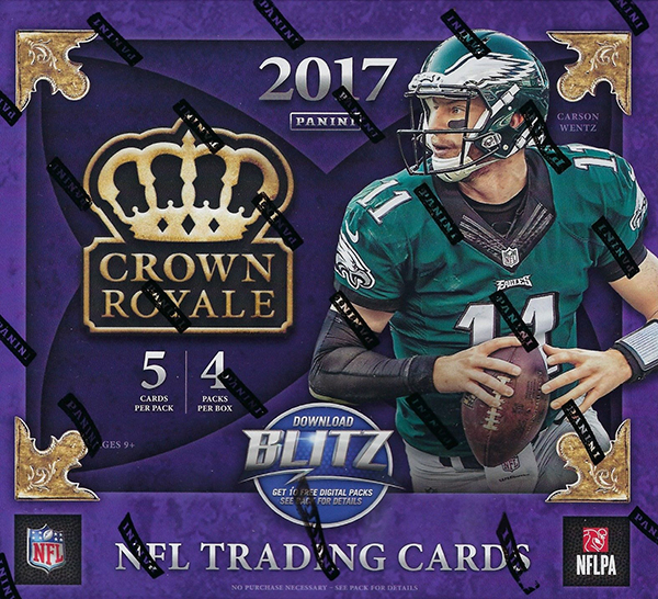 2017 Panini Crown Royale Football Box