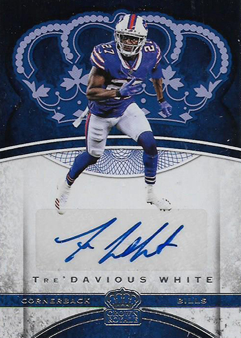 cd2b470bb3b 2017 Panini Crown Royale Football Checklist, Team Sets, Release Date