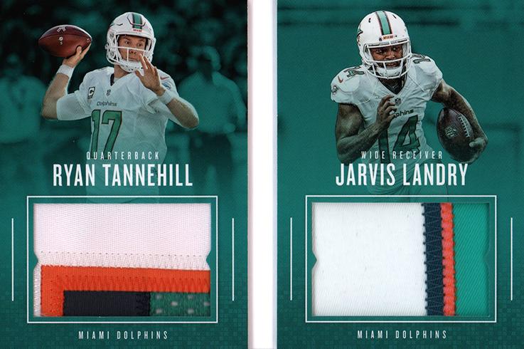 2017 Panini Preferred Football Pairings Materials Prim Booklets Ryan