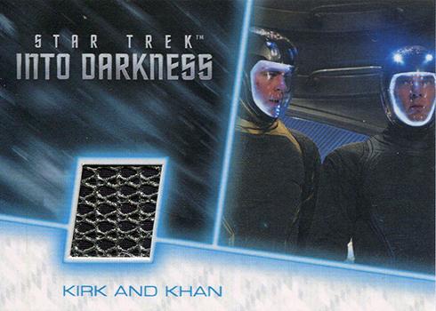 Starfleet Flight Suit Star Trek Beyond Patch Relic Card BP7 Chekov