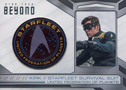 2017 Rittenhouse Star Trek Beyond Patch Card Beckett News