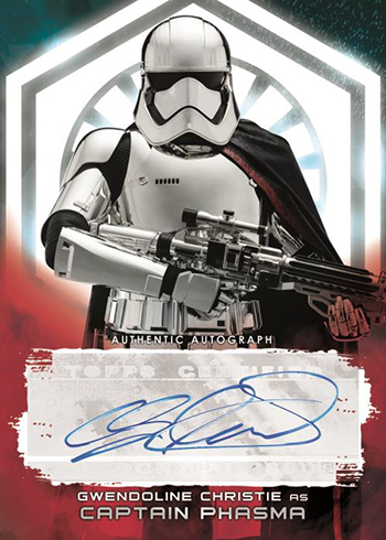 2018 Topps Star Wars The Last Jedi Series 2 Autograph