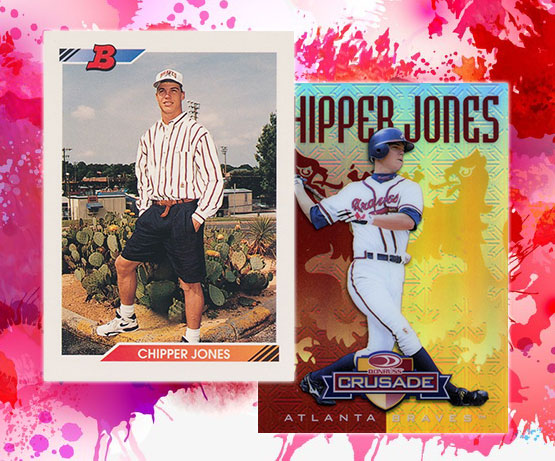 3a6a1006b1 10 of the Greatest Chipper Jones Cards of All-Time