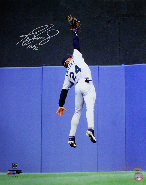 Ken Griffey Jr Signed Photo TriStar