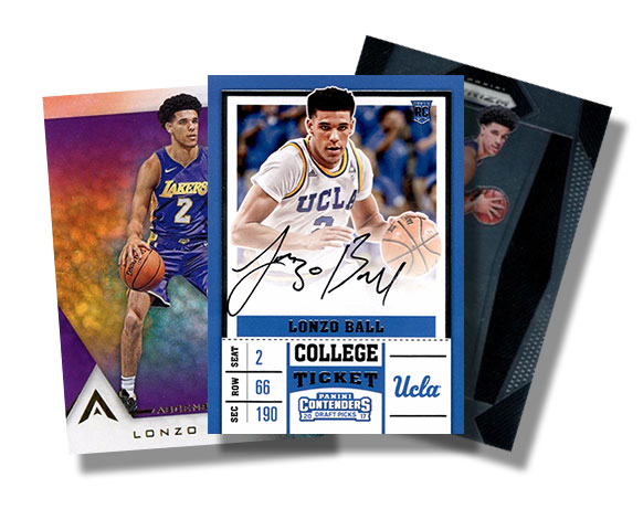 e13ef108b27 Lonzo Ball Rookie Cards Checklist