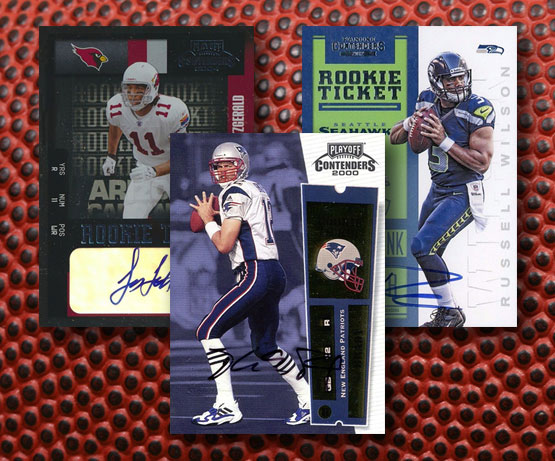 Top 25 Contenders Football Rookie Ticket Autographs