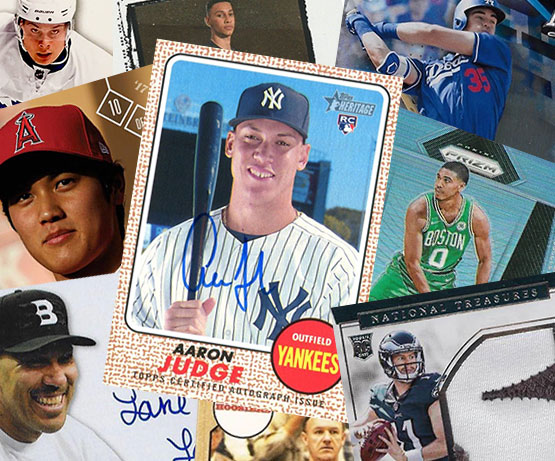 17 Sports Cards That Defined The Hobby In 2017