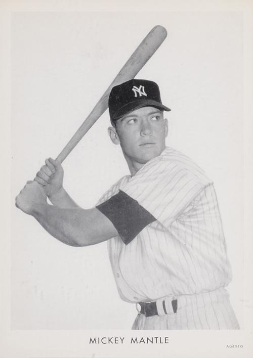 1951 Wheaties Mickey Mantle