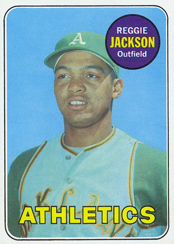 The Daily 1969 Topps Reggie Jackson Rc Beckett News