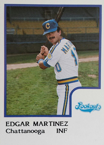 1986 Chattanooga Lookouts ProCards Edgar Martinez