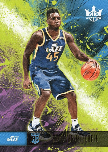 ba26cba0f25fc Donovan Mitchell Rookie Card Guide and Checklist