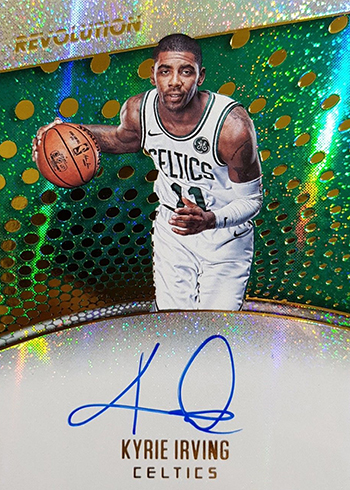 2017-18 Panini Revolution Kyrie Irving Autograph