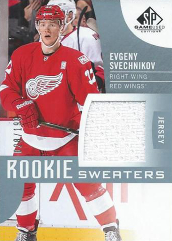 e0b18131ee8 2017-18 SP Game Used Hockey Checklist, Team Set Lists, Release Date